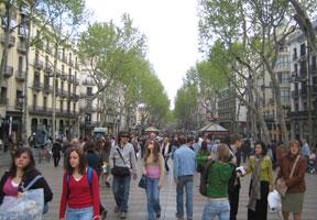 Barcelona, a cosmopolitan city