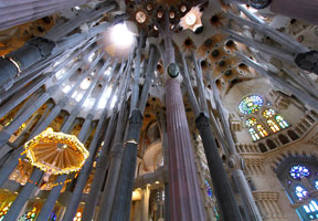 La Sagrada Família, masterpiece of Gaudí