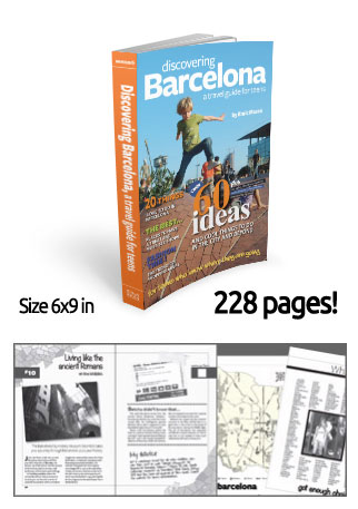 Discovering Barcelona, a travel guide for teens